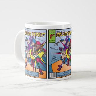 Derby Comic Coffee Large Coffee Mug