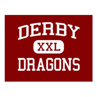 Derby - Dragons - Middle - Birmingham Michigan Postcard