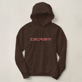 DERBY. EMBROIDERED HOODIE