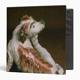 Derby figure of a King Charles spaniel 3 Ring Binder