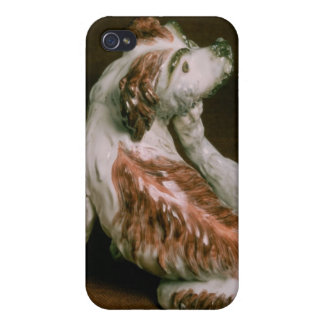 Derby figure of a King Charles spaniel iPhone 4 Cases