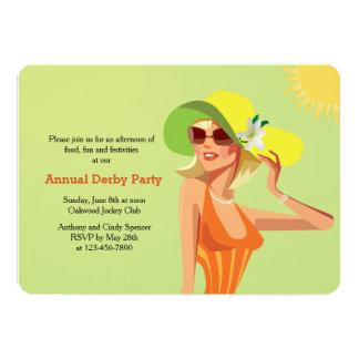 Derby Flair Invitation