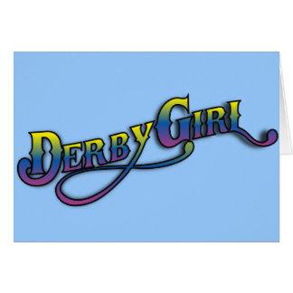 Derby Girl Card