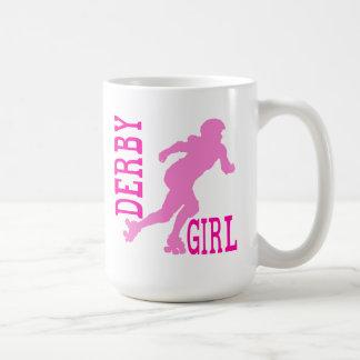 Derby Girl Classic White Coffee Mug