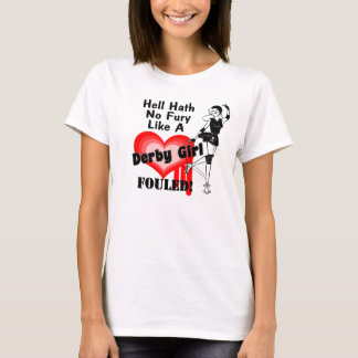 Derby Girl Fouled T-Shirt