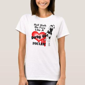 Derby Girl Fouled T-Shirt