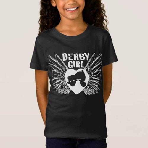 Derby Girl Roller Derby T_Shirt