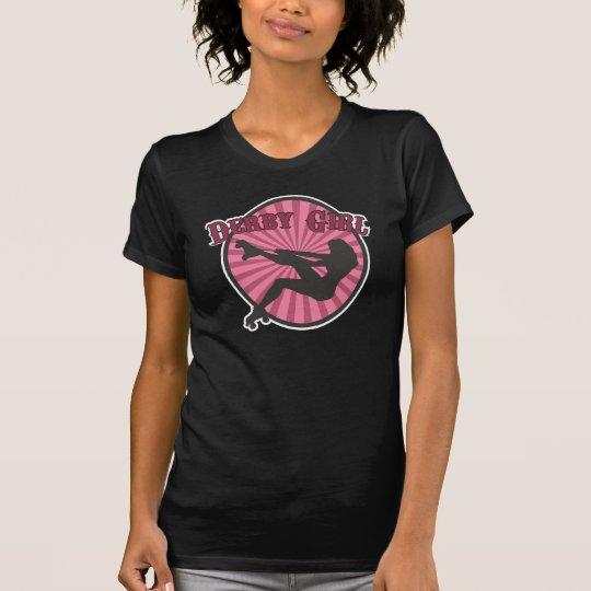 Derby Girl - Silhouette T-Shirt