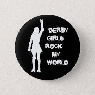 Derby Girls Rock My World Button