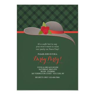 Derby Hat Invitation