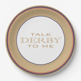 Derby Horse Race Party Paper Plates