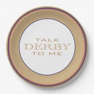 Derby Horse Race Party Paper Plates