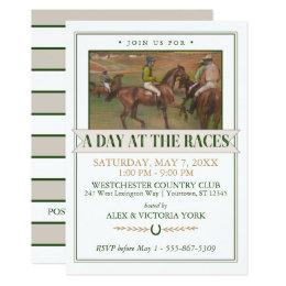 Derby Horse Racing Party | Edgar Degas Card