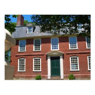 Derby House, Salem, MA Postcard
