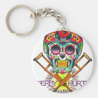 Derby Hurts Keychain