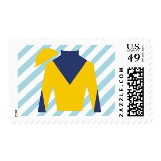 Derby Jacket Postage Stamp