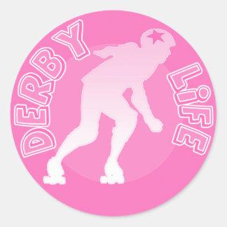 Derby Life Classic Round Sticker