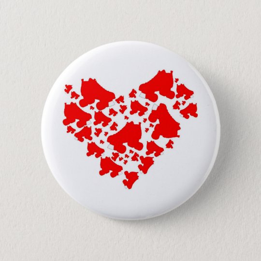 Derby Love Pinback Button