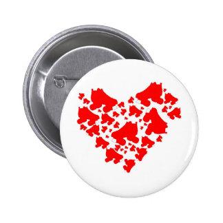 Derby Love Pinback Button