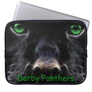 """Derby Panthers Custom Neoprene Sleeve 15"""" Computer Sleeves"""