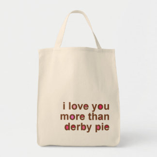 Derby Pie Grocery Tote