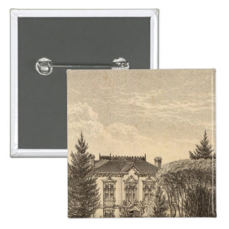 Derby residence 2 inch square button