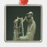Derby shepherdess, 1790 metal ornament