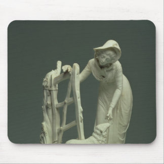 Derby shepherdess, 1790 mouse pad
