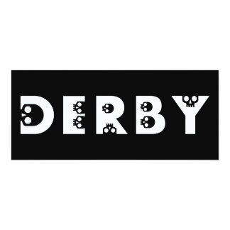 derby skullphabet card