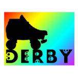 derby: skullphabet postales