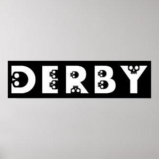 derby : skullphabet poster