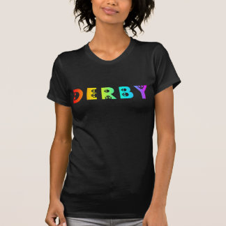 derby : skullphabet tee shirt