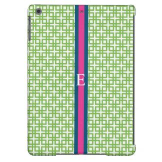 DERBY STRIPE iPad Case in Leaf