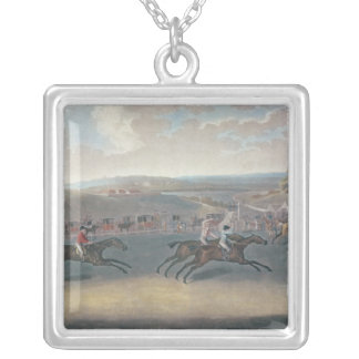 Derby Sweepstake, 1791/2 Silver Plated Necklace