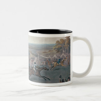 Derby Sweepstake, 1791/2 Two-Tone Coffee Mug