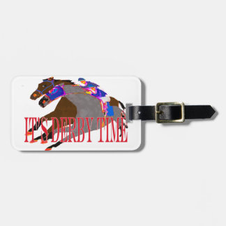 derby time 2016 Horse Racing Bag Tag