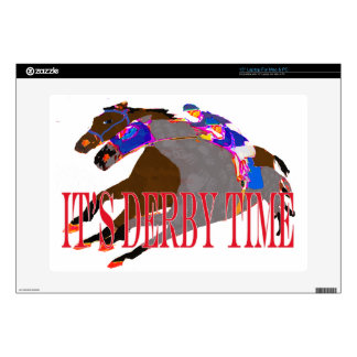 derby time 2016 Horse Racing Skin For Laptop