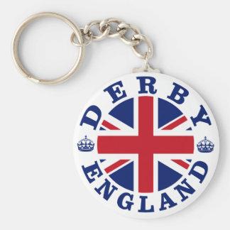 Derby Vintage UK Design Keychain