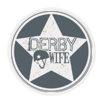 Derby Wife, Roller Derby Edible Frosting Rounds