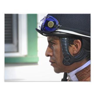 """Derby Winning Rider """"Edgar Prado"""" Photo Print"""