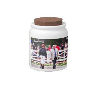 Derby winning Trainer Shug McGaughey Candy Jars