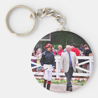 Derby winning Trainer Shug McGaughey Key Chain