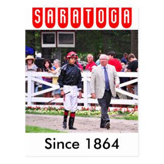 Derby winning Trainer Shug McGaughey Postcard