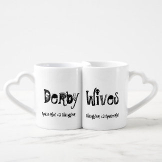 Derby Wives mugs Roller Derby