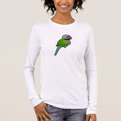 Cute bird Long Sleeve Shirts in Women's Apparel by Birdorable