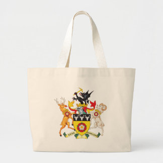 Derbyshire Coat of Arms Canvas Bags