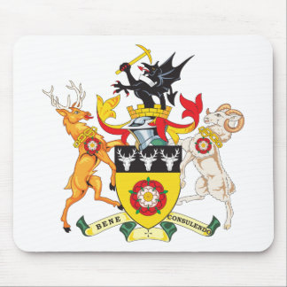 Derbyshire Coat of Arms Mouse Pads