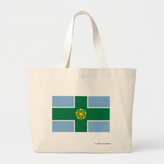 Derbyshire Flag Canvas Bags