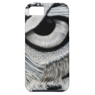 Derecho 2 del ojo del búho de 2 funda para iPhone SE/5/5s
