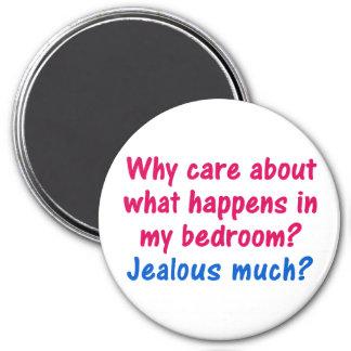 Derecho a la aislamiento del dormitorio imán redondo 7 cm